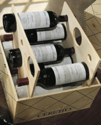 Confezione Cubo 12 Bottiglie Barolo D.O.C.G. Brunate Ceretto 2005 2006 2007 2008