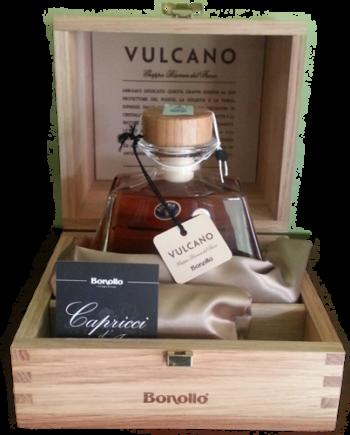 Grappa Vulcano Riserva Amarone Bonollo