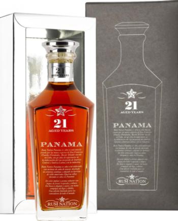 Rum Panama 21 Anni Rum Nation Cofanetto