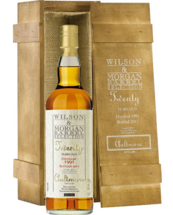Whisky Aultmore 20 Anni Wilson & Morgan Barrel Selection 1991